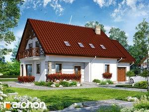 Проект дома ARCHON+ Дом в деванне (Г)
