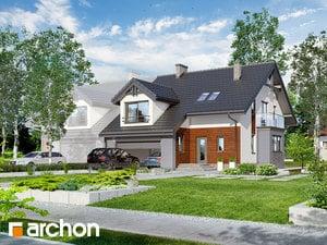 Проект дома ARCHON+ Дом в клематисах (Г2)