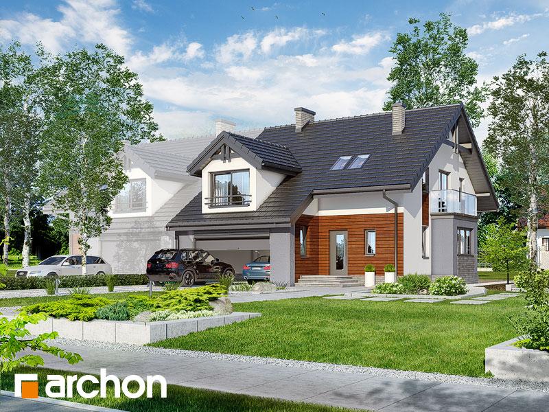 Проект дома ARCHON+ Дом в клематисах (Г2) - Визуализация 1