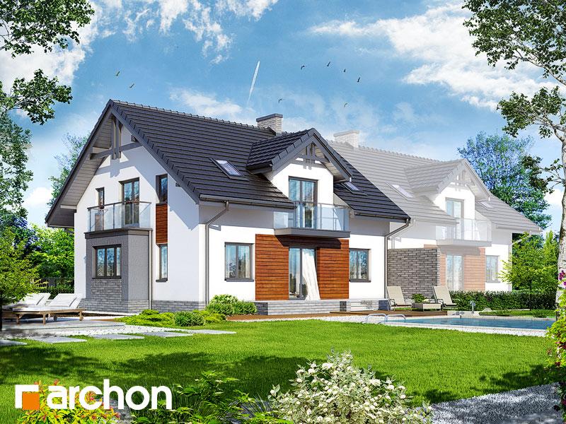Проект дома ARCHON+ Дом в клематисах (Г2) - Визуализация 2