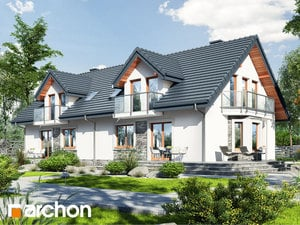 Проект дома ARCHON+ Дом в рододендронах 10