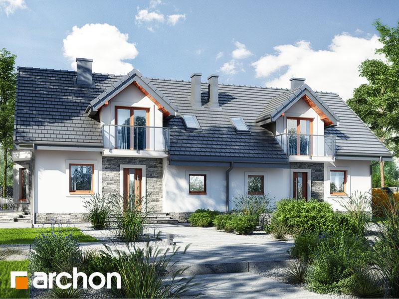 Проект дома ARCHON+ Дом в рододендронах 10 - Визуализация 2