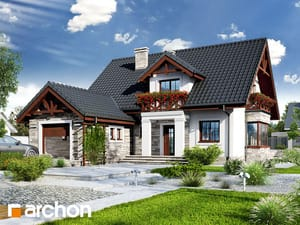 Проект дома ARCHON+ Дом в тоцциях