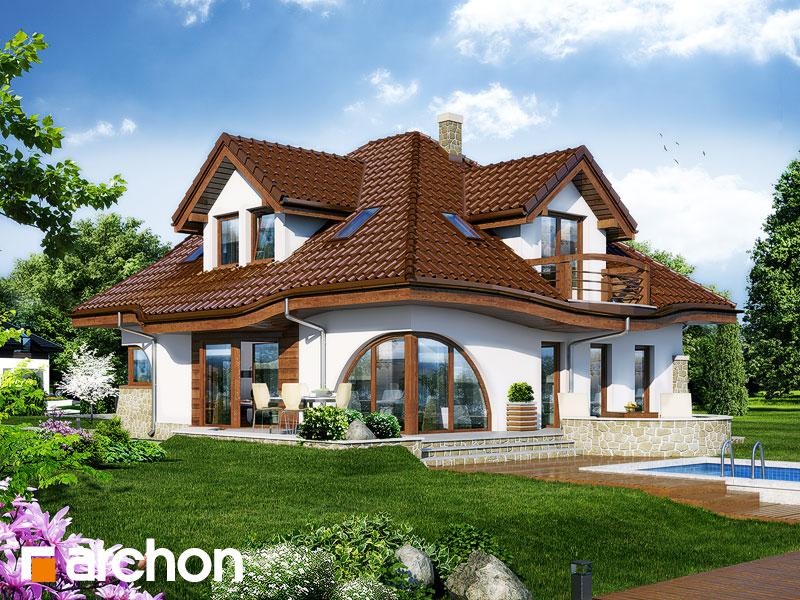 Проект дома ARCHON+ Дом в зефирантесе - Визуализация 1