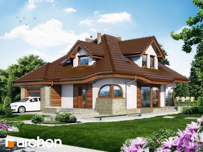 Проект дома ARCHON+ Дом в зефирантесе - Визуализация 2