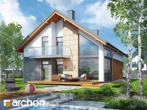 Проект дома ARCHON+ Дом в кирказоне