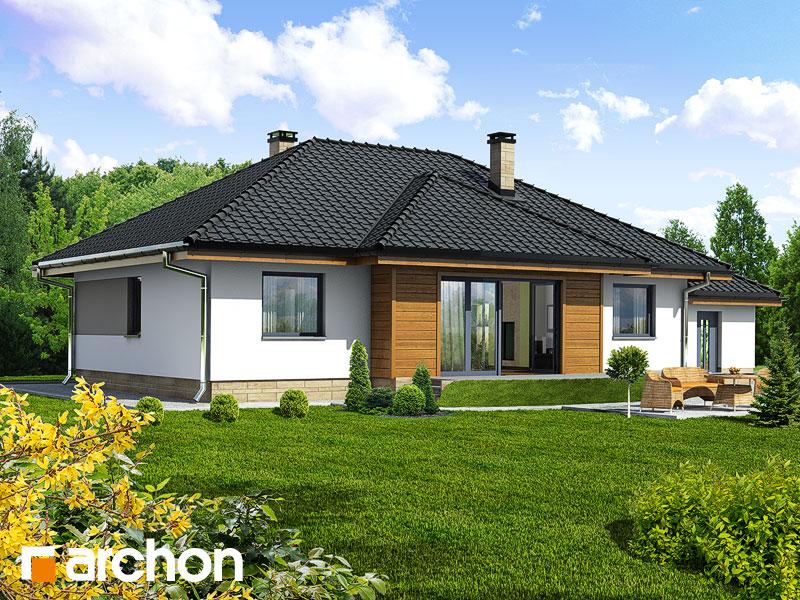 Проект дома ARCHON+ Дом в акебиях - Визуализация 2