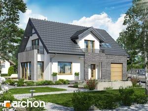 Проект дома ARCHON+ Дом в мискантусе