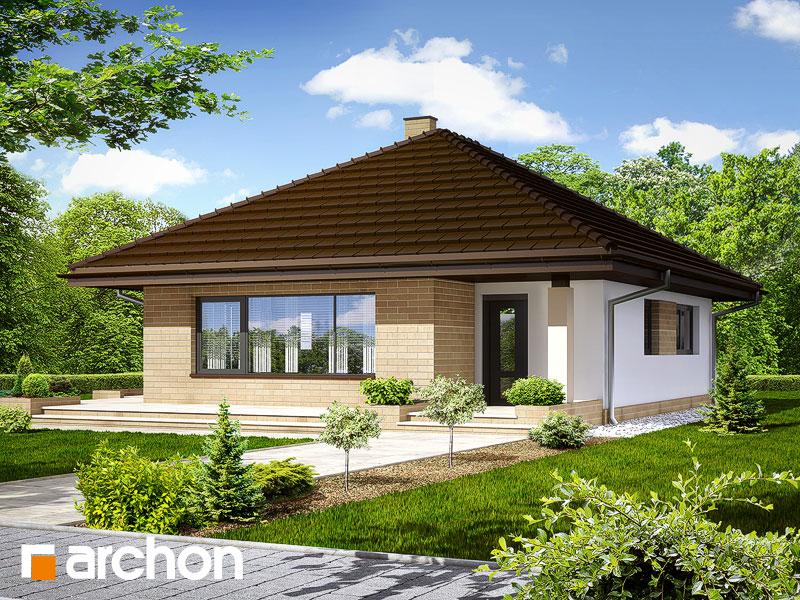 Дом в сирени - Визуализация 2