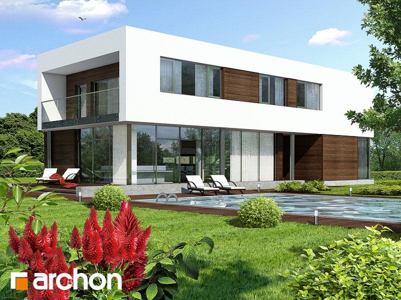 Проект дома ARCHON+ Дом в караганах - Визуализация 1