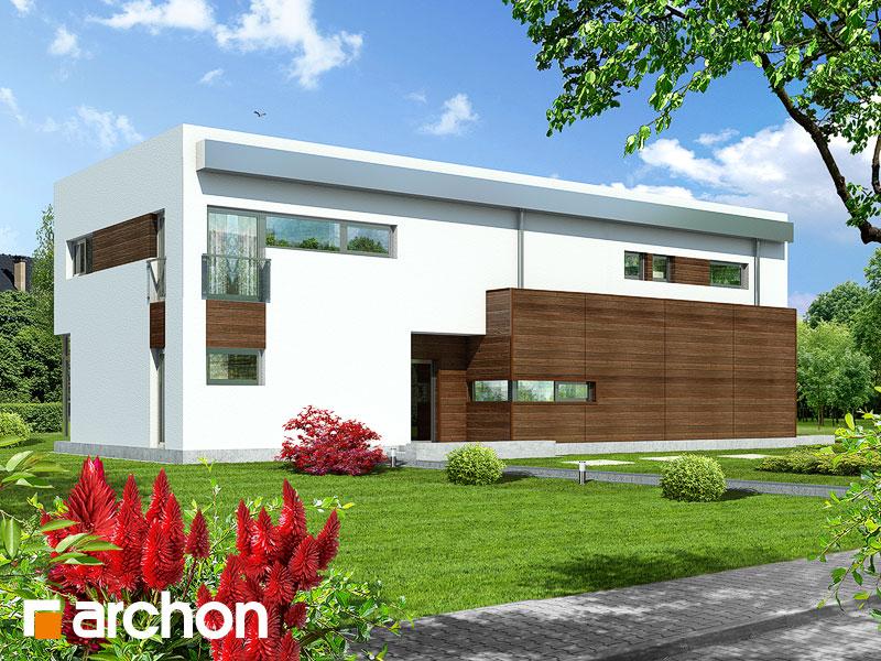 Проект дома ARCHON+ Дом в караганах - Визуализация 2