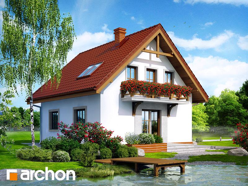 Проект дома ARCHON+ Дом в землянике 5 - Визуализация 2
