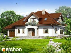 Проект дома ARCHON+ Дом в каллах 3