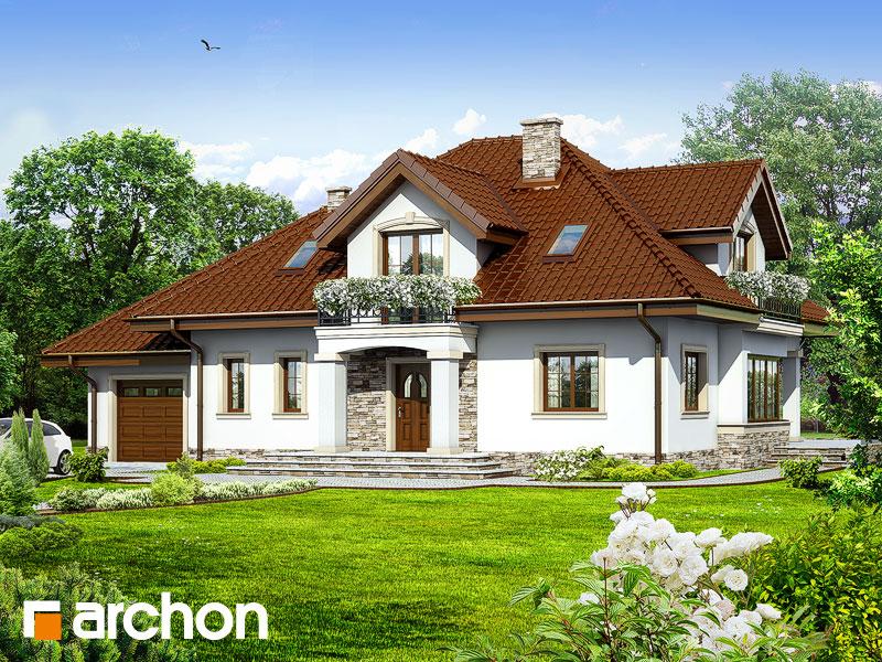 Проект дома ARCHON+ Дом в каллах 3 - Визуализация 1