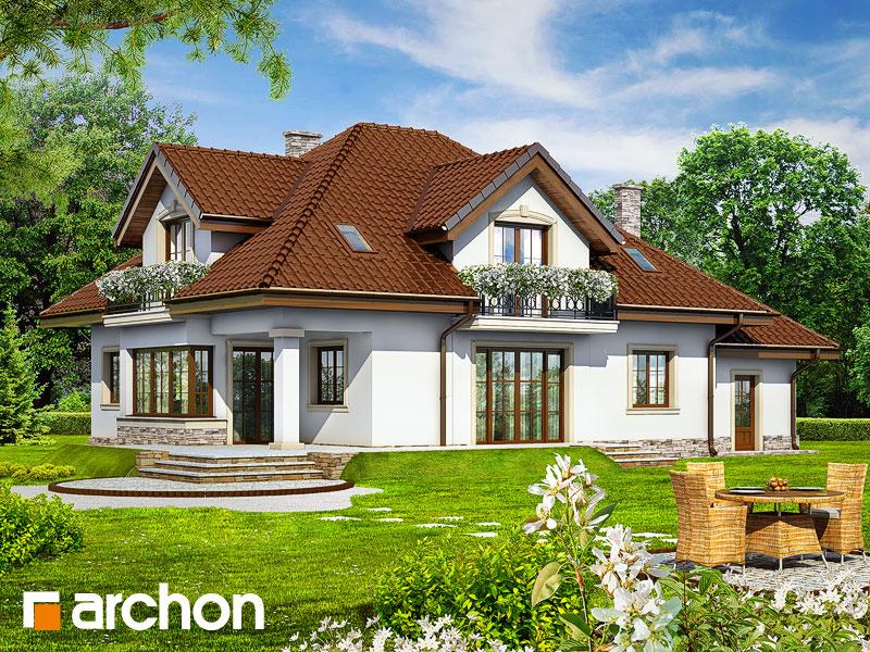 Проект дома ARCHON+ Дом в каллах 3 - Визуализация 2