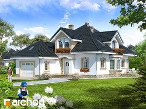 Проект дома ARCHON+ Дом в кокосах (Г)
