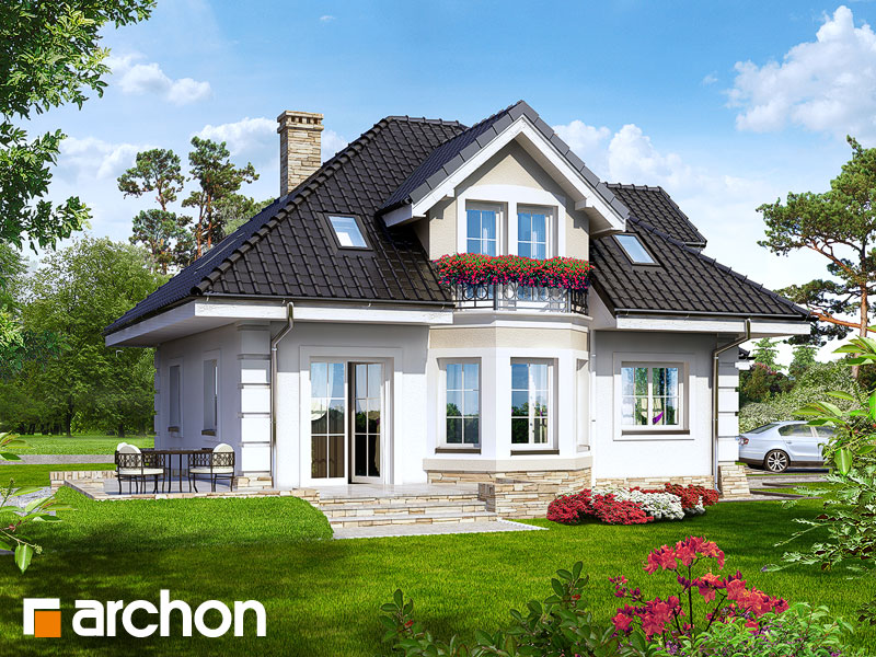 Проект дома ARCHON+ Дом в рукколе - Визуализация 2