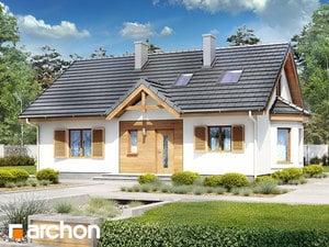 Проект дома ARCHON+ Дом в ежевике 2 (М)