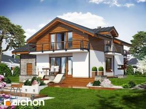Проект дома ARCHON+ Дом в буддлеях