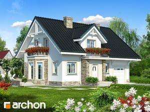 Проект дома ARCHON+ Дом в рододендронах 14
