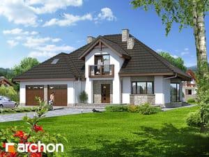 Проект дома ARCHON+ Дом в калатеях
