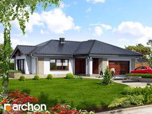 Проект дома ARCHON+ Дом в бадане
