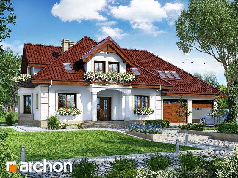 Проект дома ARCHON+ Дом в тимьяне 4 (Г2) - Визуализация 1