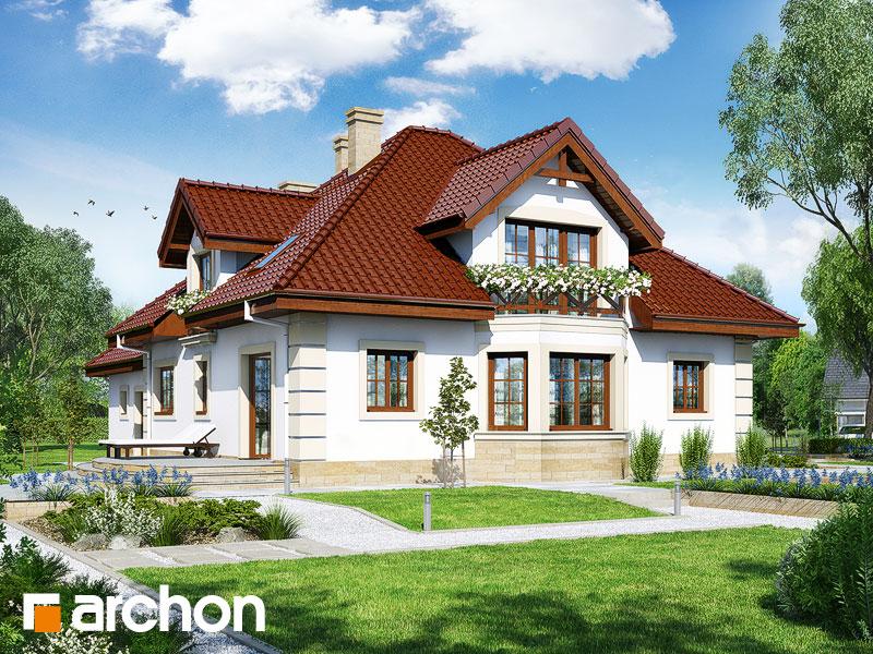 Проект дома ARCHON+ Дом в тимьяне 4 (Г2) - Визуализация 2