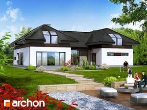 Проект дома ARCHON+ Резиденция в нертерах