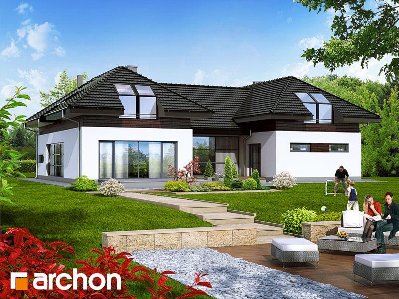 Проект дома ARCHON+ Резиденция в нертерах - Визуализация 1