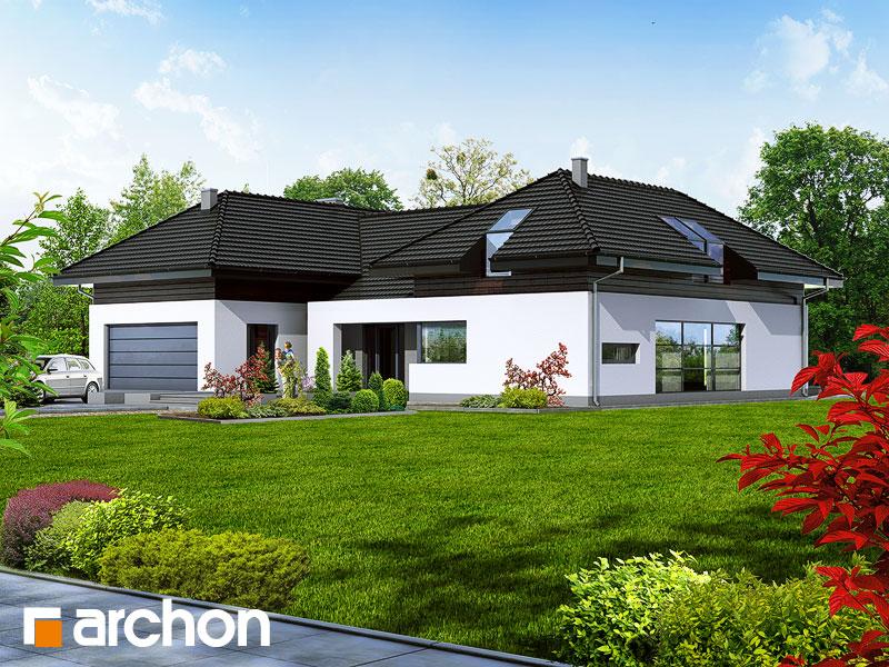 Проект дома ARCHON+ Резиденция в нертерах - Визуализация 2