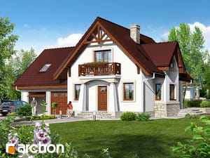 Проект дома ARCHON+ Дом в абрикосах (Г2)