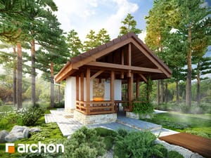 Проект дома ARCHON+ Беседка A3