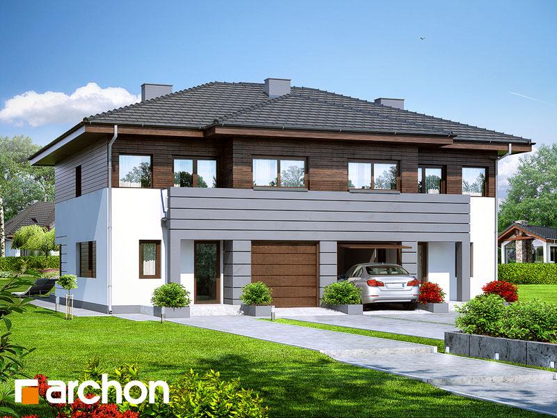 Проект дома ARCHON+ Вилла Юлия - Визуализация 1