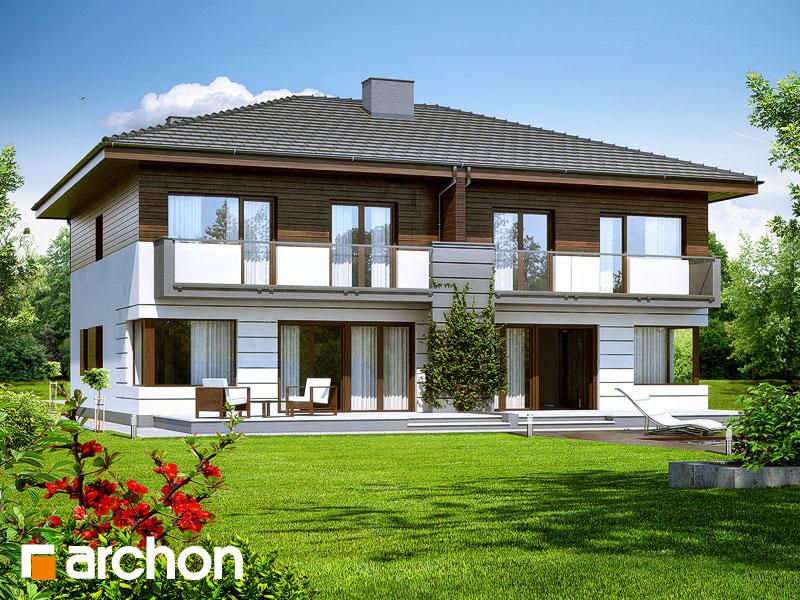 Проект дома ARCHON+ Вилла Юлия - Визуализация 2