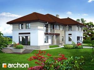 Проект дома ARCHON+ Вилла Приморская
