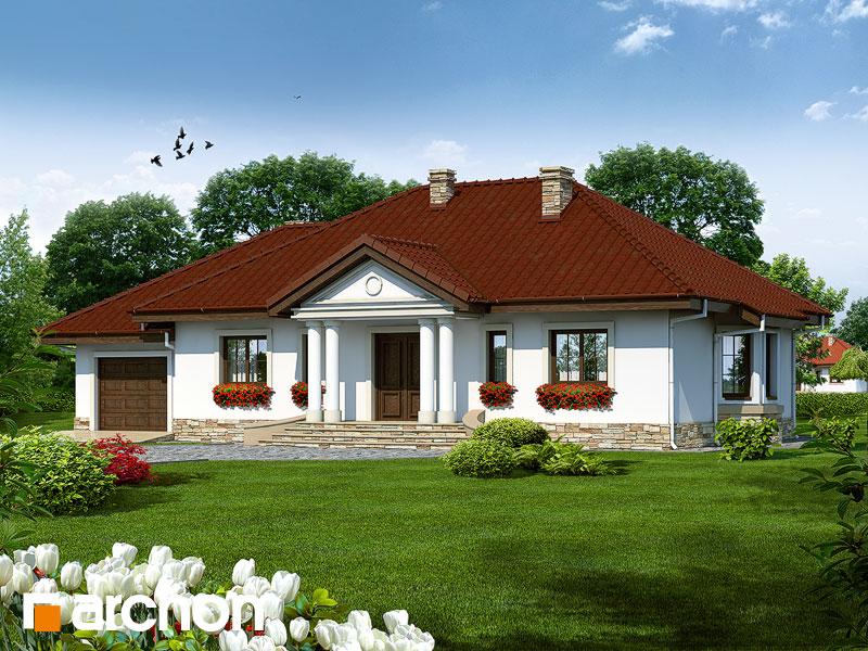 Проект дома ARCHON+ Дом в гаурах - Визуализация 2