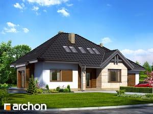 Проект дома ARCHON+ Дом в индигофери