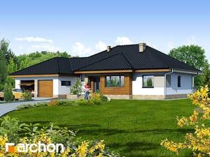 Проект дома ARCHON+ Дом в акебиях 2