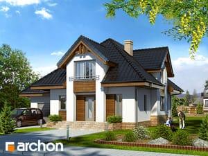 Проект дома ARCHON+ Дом в мальвах