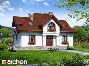 Проект дома ARCHON+ Дом в мирабелле 2