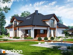Проект дома ARCHON+ Дом в хебе