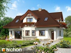 Проект дома ARCHON+ Дом в майоране (П)