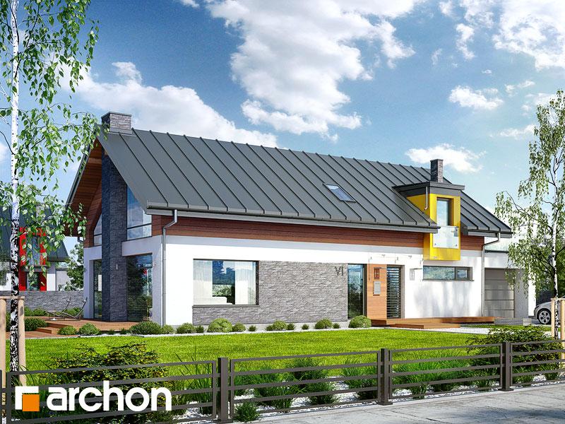 Дом в лаврах - Визуализация 2