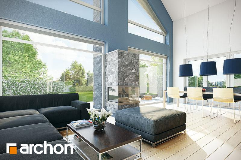 Проект дома ARCHON+ Дом в лаврах - Интерьеры
