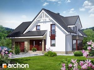 Проект дома ARCHON+ Дом в тамарисках 2 (Н)