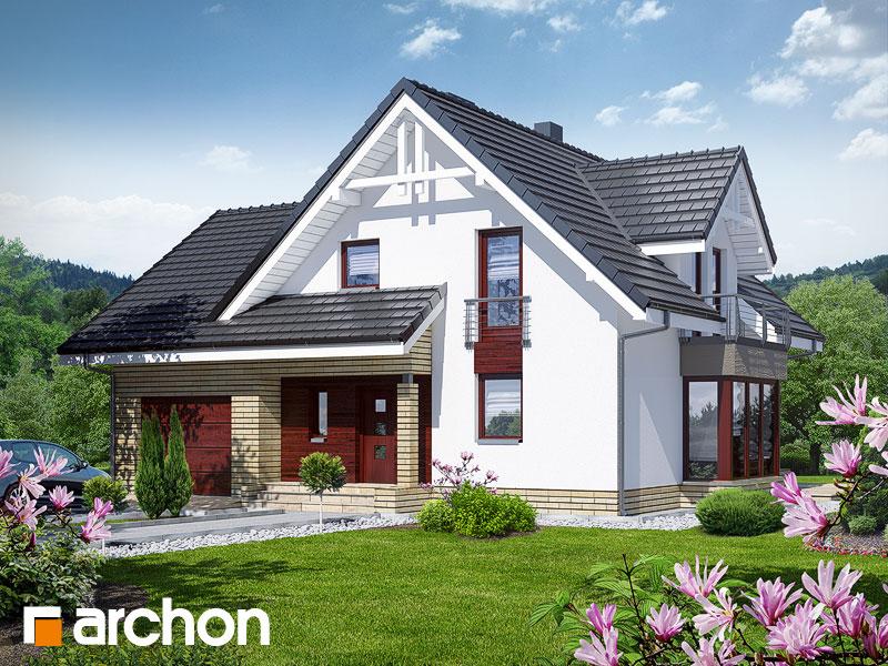 Проект дома ARCHON+ Дом в тамарисках 2 (Н) - Визуализация 1
