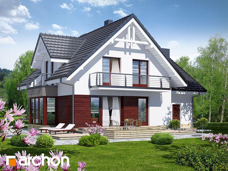 Проект дома ARCHON+ Дом в тамарисках 2 (Н) - Визуализация 2