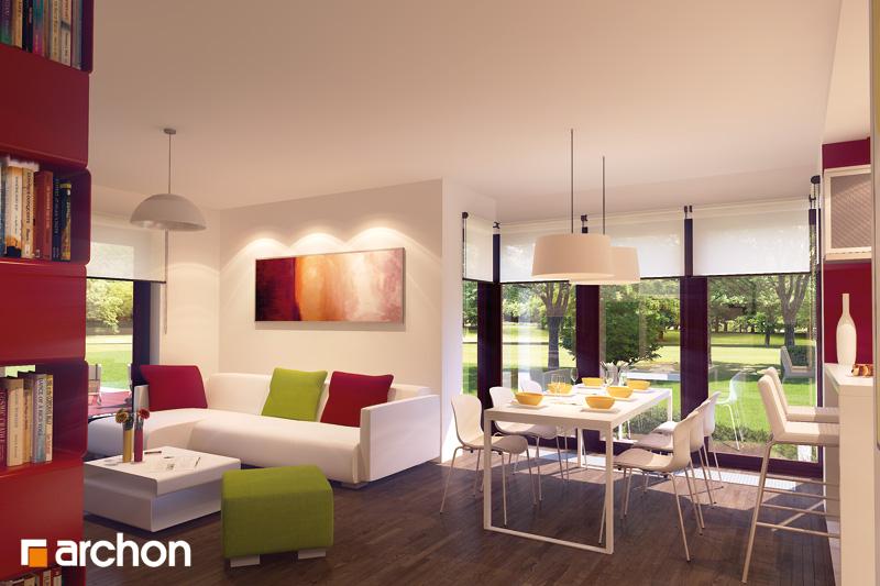 Проект дома ARCHON+ Дом в тамарисках 2 (Н) - Интерьеры