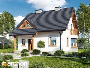 Проект дома ARCHON+ Дом под буками 4 ver.2